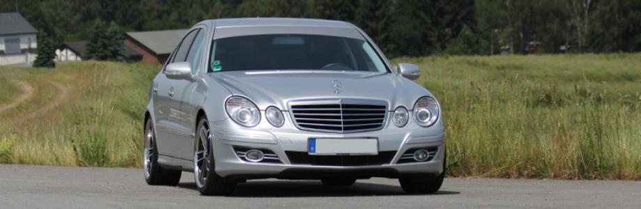 Mercedes E Klasse W211 Tuning Felgen Chip