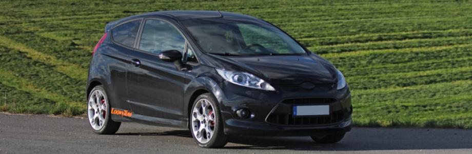 Chiptuning Ökotuning für Ford Fiesta Softwareoptimiert mit V-max Aufhebung