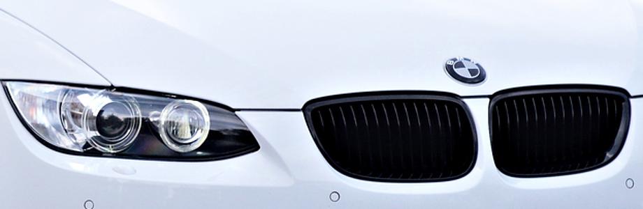 BMW Frontgrill schwarz