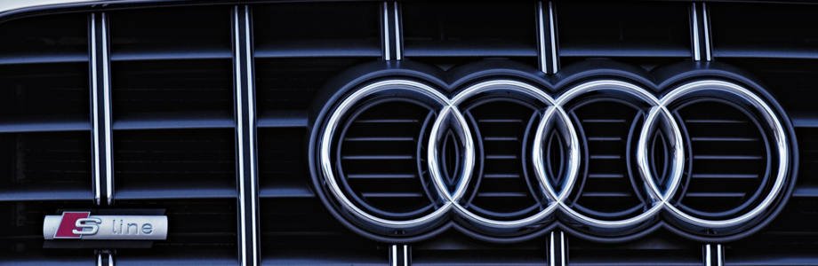 Audi A6 4F Frontgrill S line