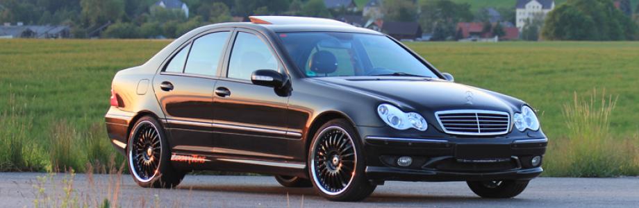 Chiptuning Mercedes C Klasse W203 Felgen